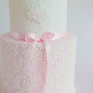 Emily Damask-cake