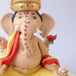 Ganesh-cake