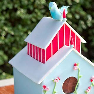 Julias birdhouse-cake