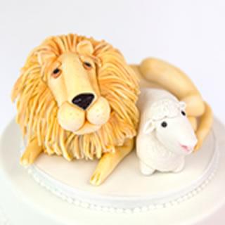 Lion Lamb-cake