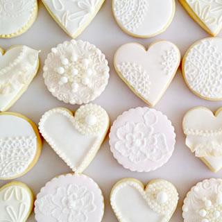 Vintage cookies-cake