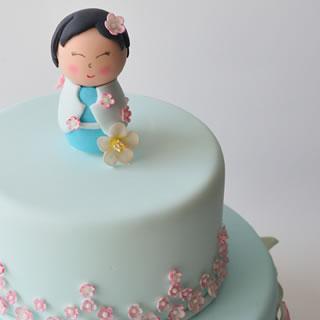china doll-cake