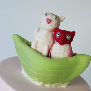 owl pussycat-cake