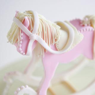rocking horse-cake